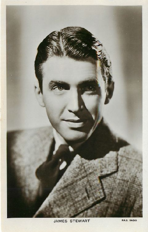 James Stewart - No. 1214 Postcard