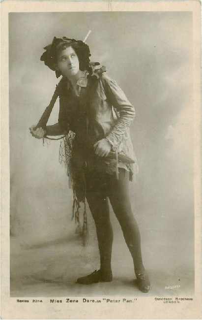 "Miss Zena Dare in ""Peter Pan"" - No. 2314"