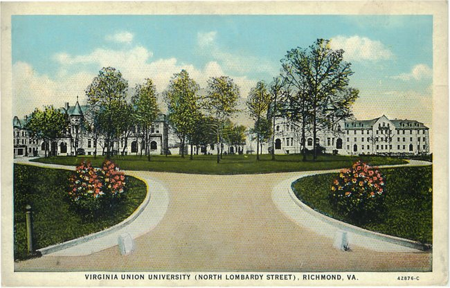 Virginia Union University Richmond, VA postcard