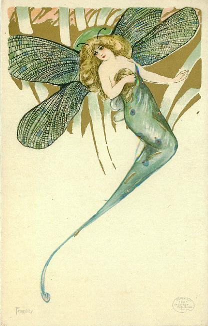 Fragility by Samuel Schmucker - Rare Artist Postcard