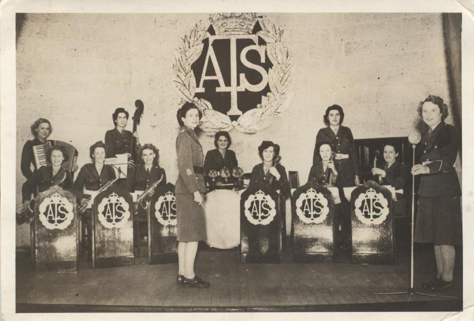 A.T.S. BAND VISITING TORQUAY OCT. 1944