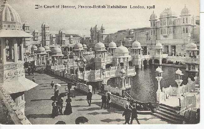 In Court of Honour,Franco-British Exhibition London 1908 - Click Image to Close