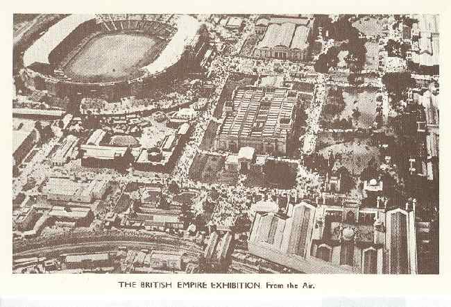 The British Empire Exhibition From The Air