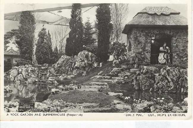 A Rock Garden and Summerhouse Daily Meal Ideal Home Exhibition