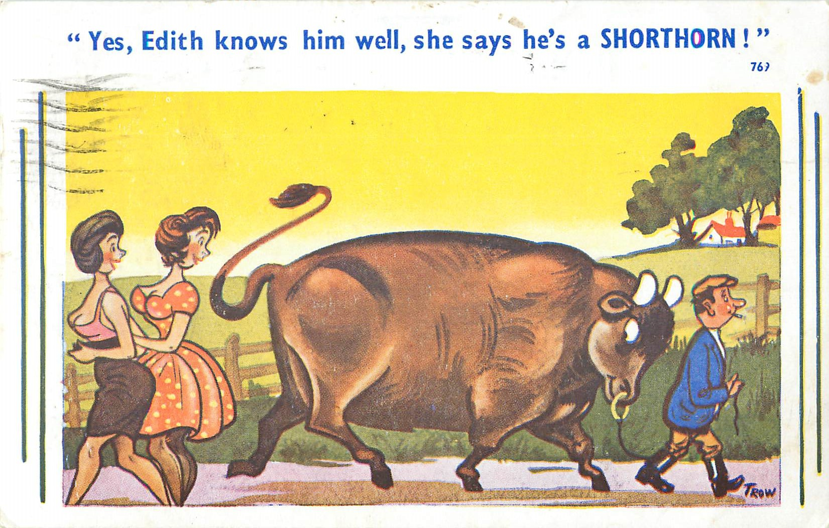 """She Says he's a Shorthorn!"""
