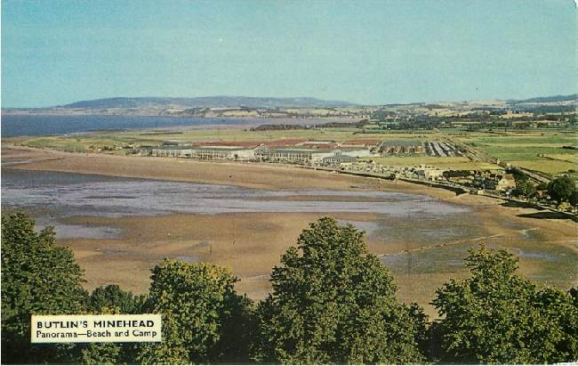 Butlin's Minehead - Panorama - Beach and Camp