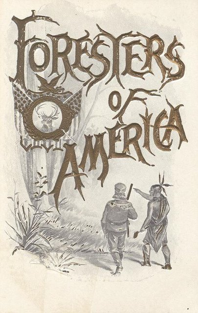 Foresters of America Club Postcard