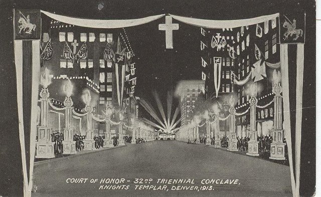 Court of Honor Club Postcard