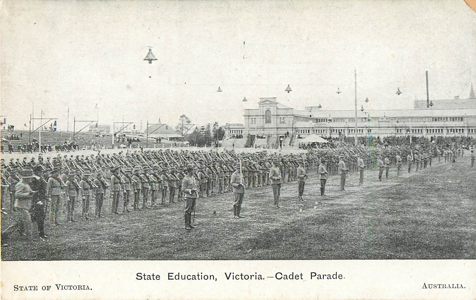 Cadet Parade, Stated Education, Victoria - Australia