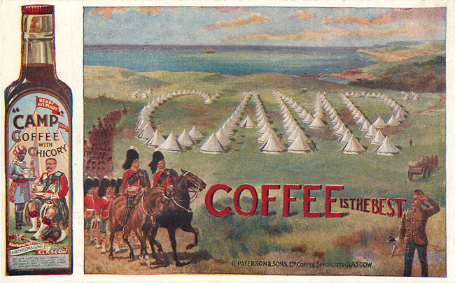 Advertising Postcard - Camp Coffee is the Best
