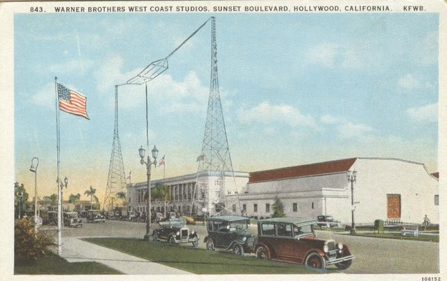 Warner Brothers West Coast Studios - Sunset Blvd. Hollywood, CA