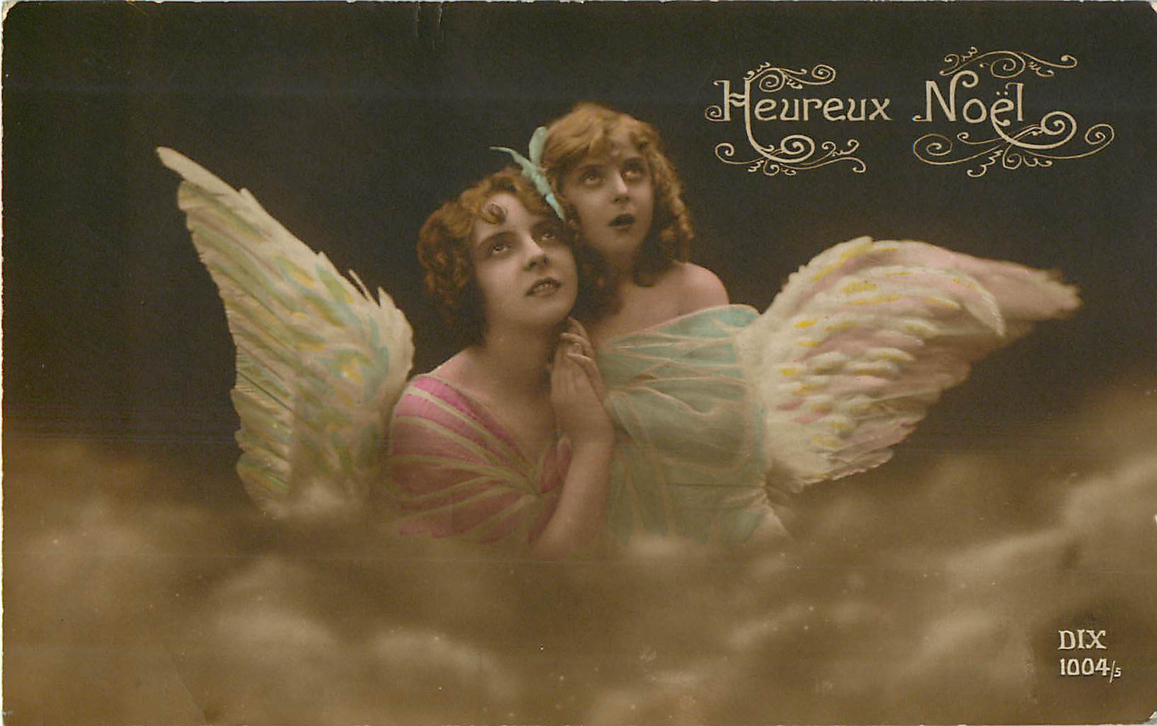Heureux Noel - Angels in Clouds
