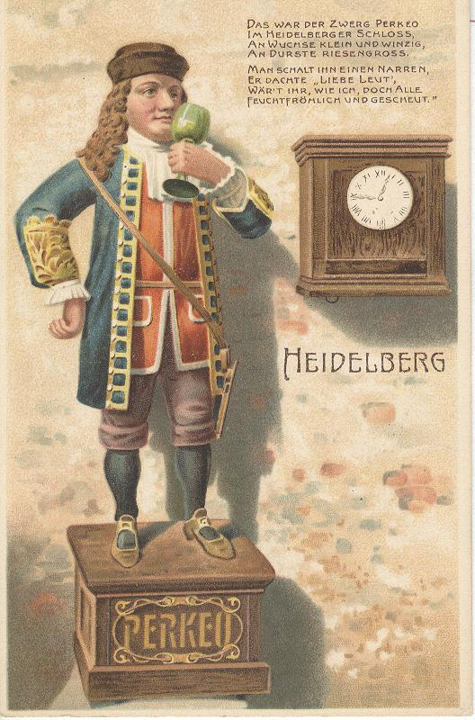 HEIDELBERG PERKEO GERMANY CARD No.2423
