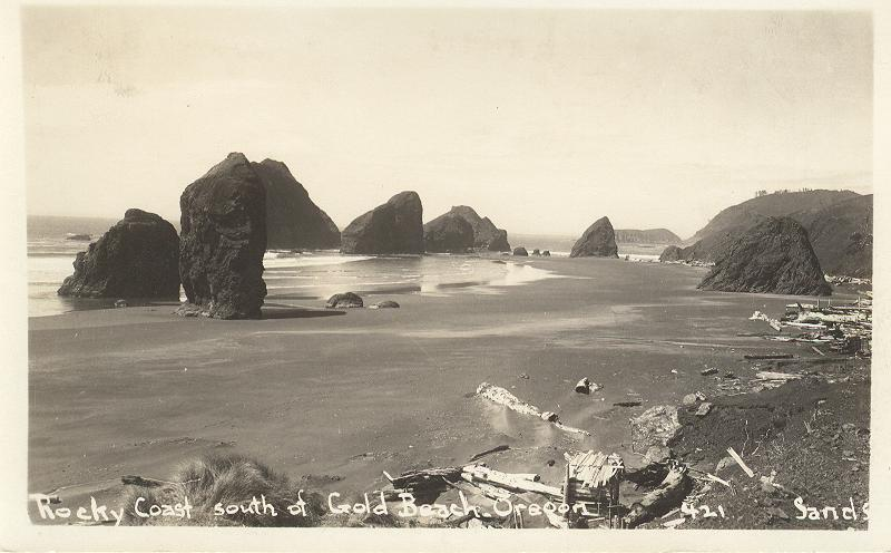 Rocky Coast South of Gold Beach, Oregon