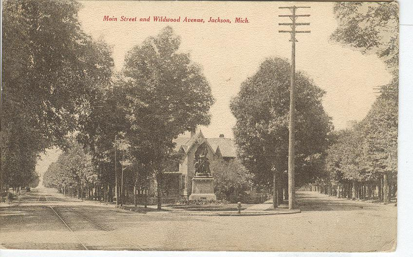 Main Street and Wildwood Avenue, Jackson, Mich.