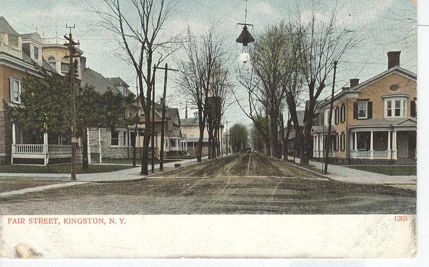 Fair Street, Kingston, N.Y.