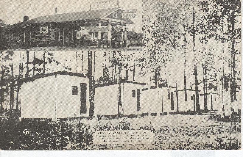 Pennsylvania Tourist Camp, Lumberton, North Carolina