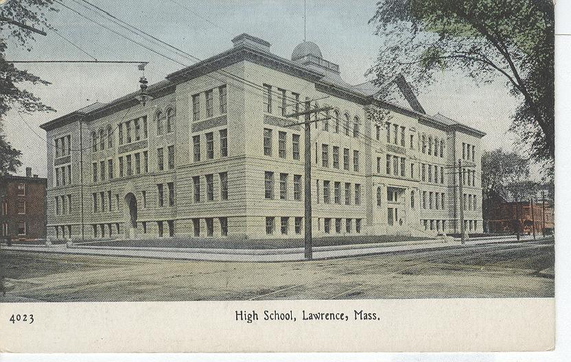 High School, Lawrence, Mass.