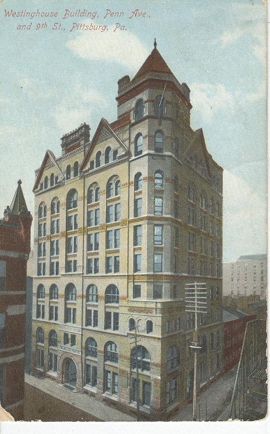 Westinghouse Building, Penn Ave., and 9th St., Pittsburg, Pa.