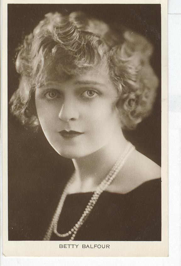 Betty Balfour Postcard