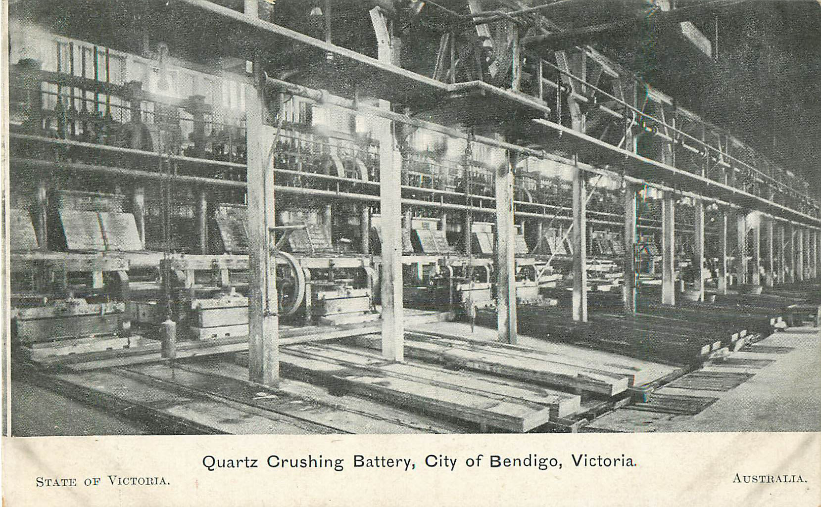 Quartz Crushing Batter, City of Bendigo, Victoria - Australia