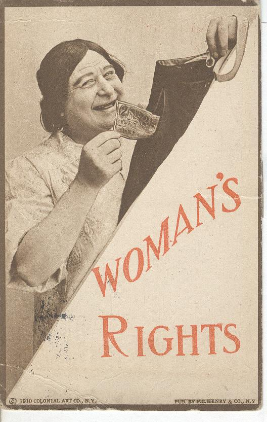 Womans Rights 1910 Colonial Art Co. NY