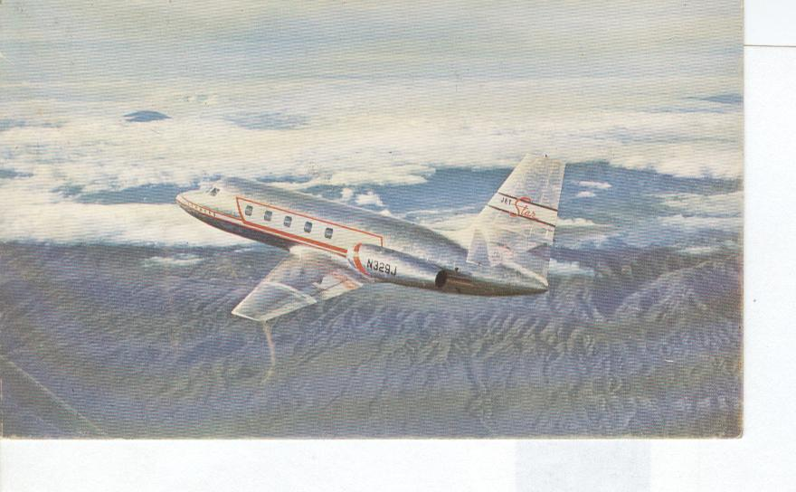 THE LOCKHEED JETSTAR Postcard