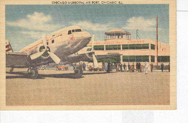 Chicago Municipal Air Port, Chicago, ILL