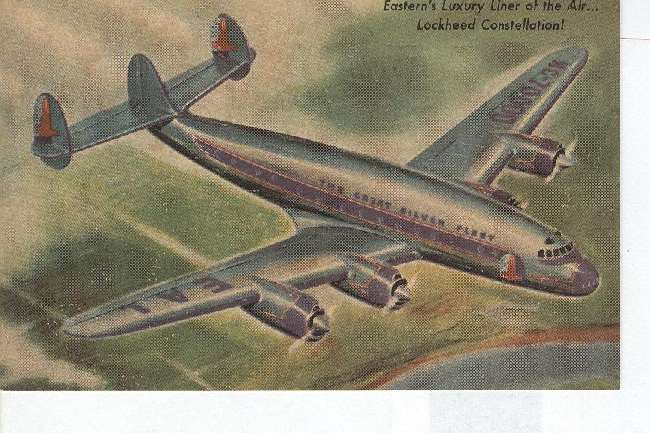 The Great Silver Fleet, Lockheed Constellation