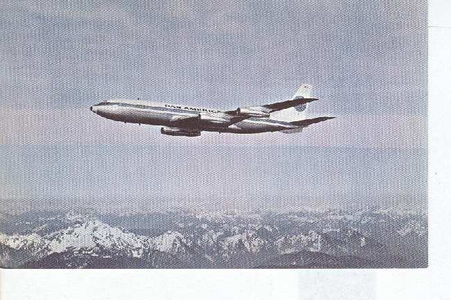 PAN AMERICAN BOEING 707-321B Super Intercontinental Jet Clipper