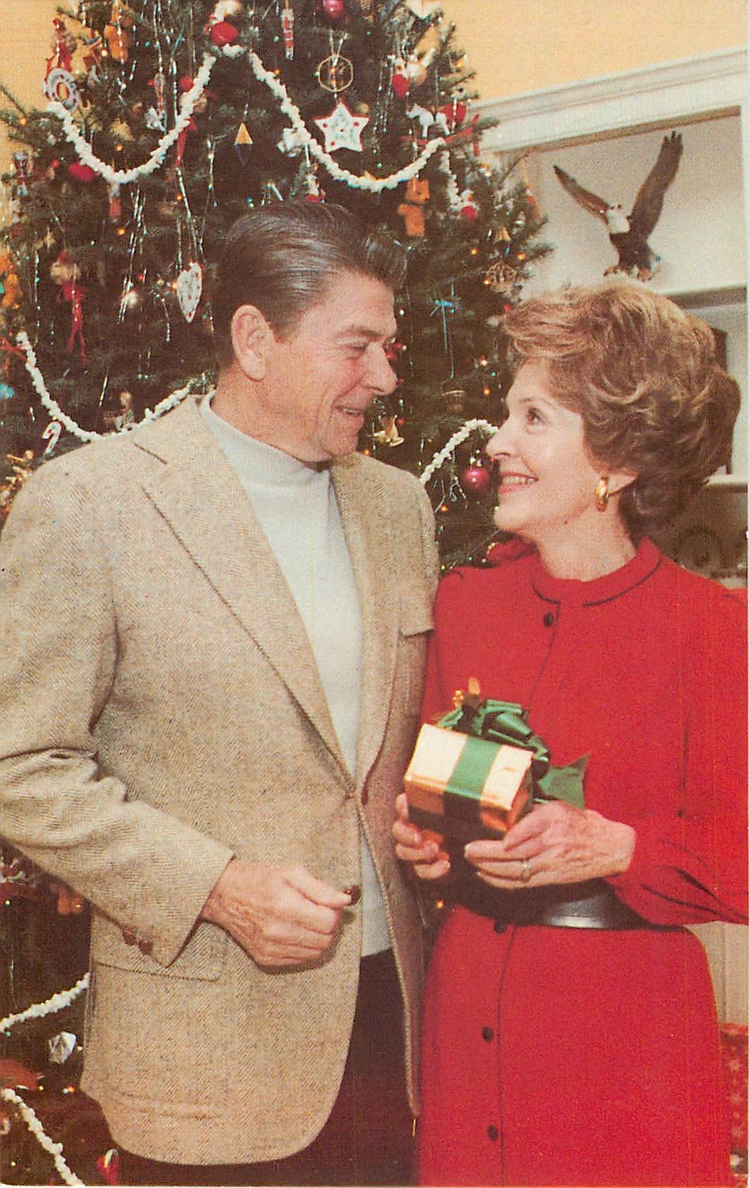 """The Reagan's First White House Christmas"""