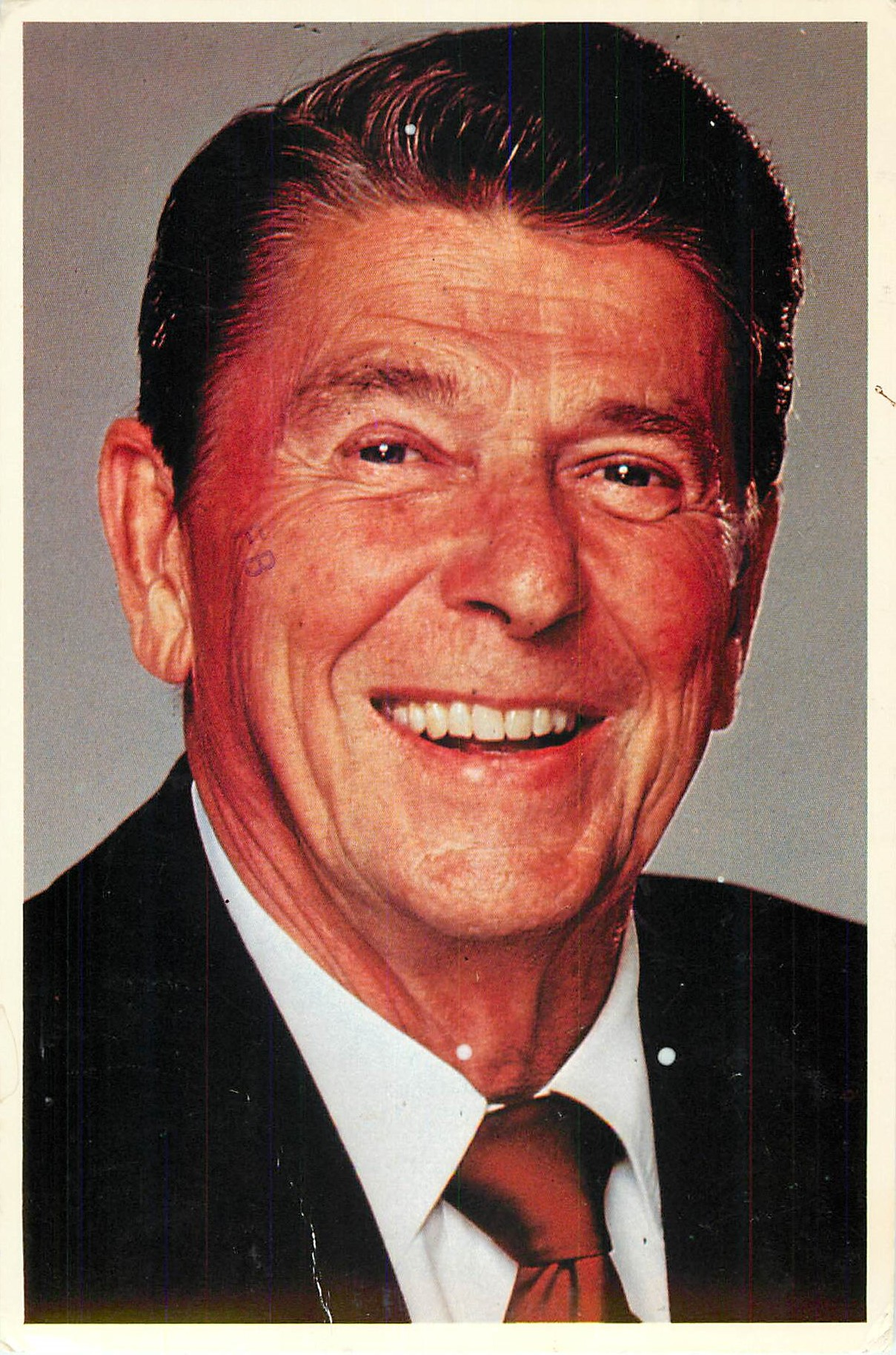 """Ronald Reagan by Silberne"""