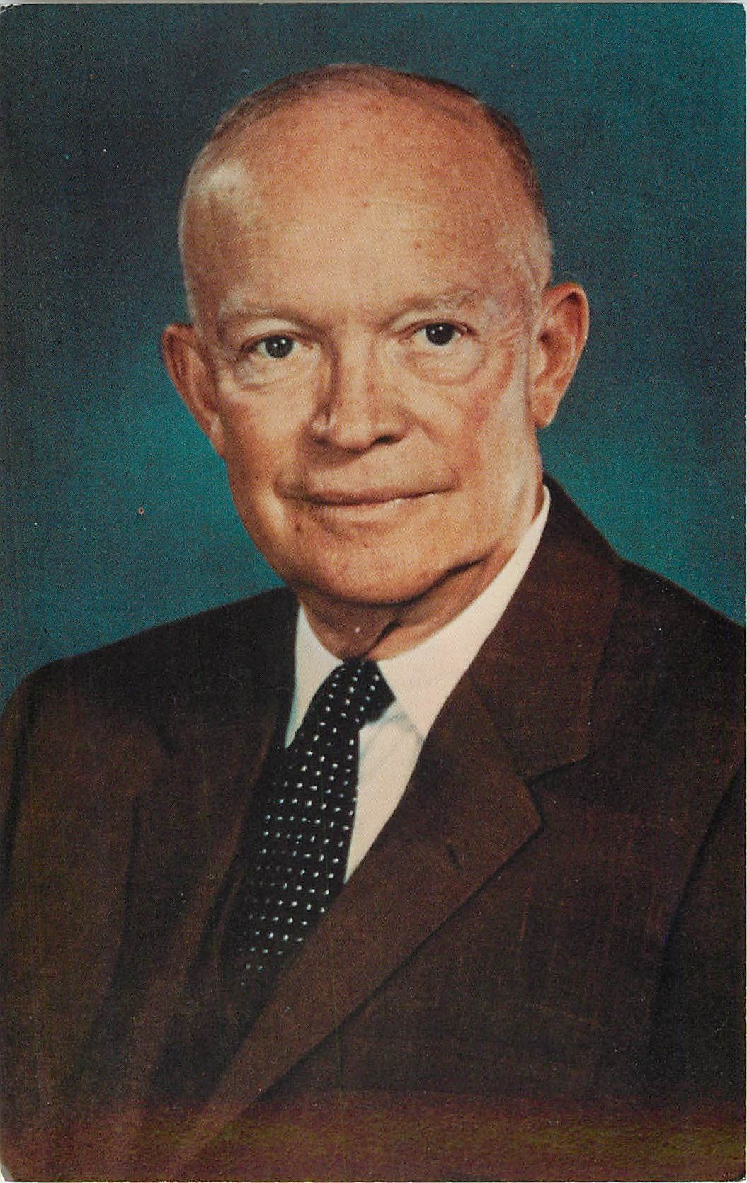 """Dwight D. Eisenhower"""