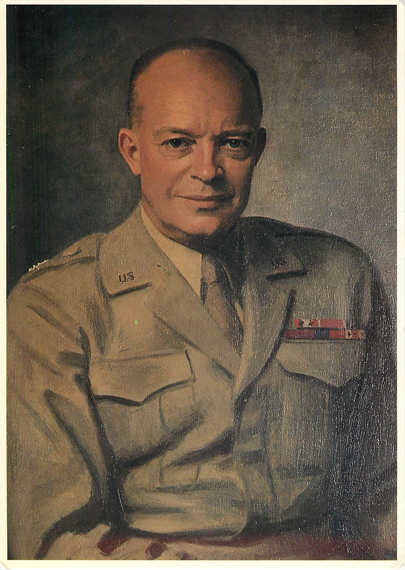 """General Dwight D. Eisenhower - by Thomas Stephens"""