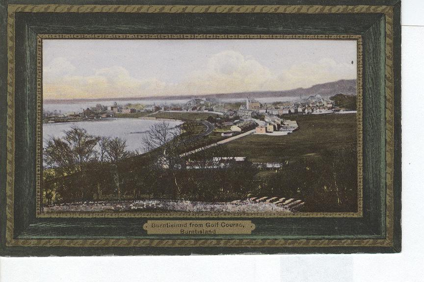 "Burntisland from Golf Course England ""Ideal Series"""