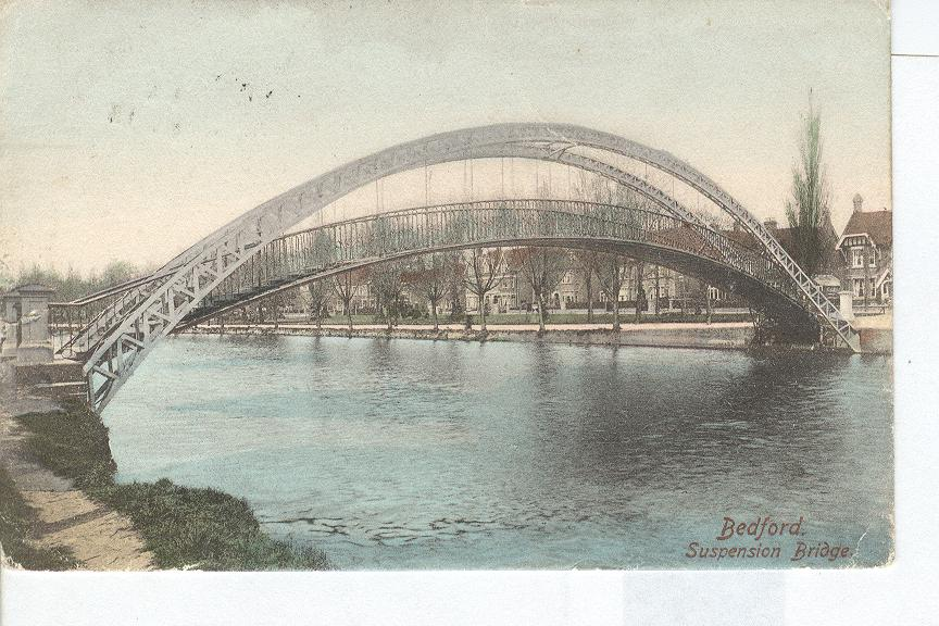Bedford Suspension Bridge 1904