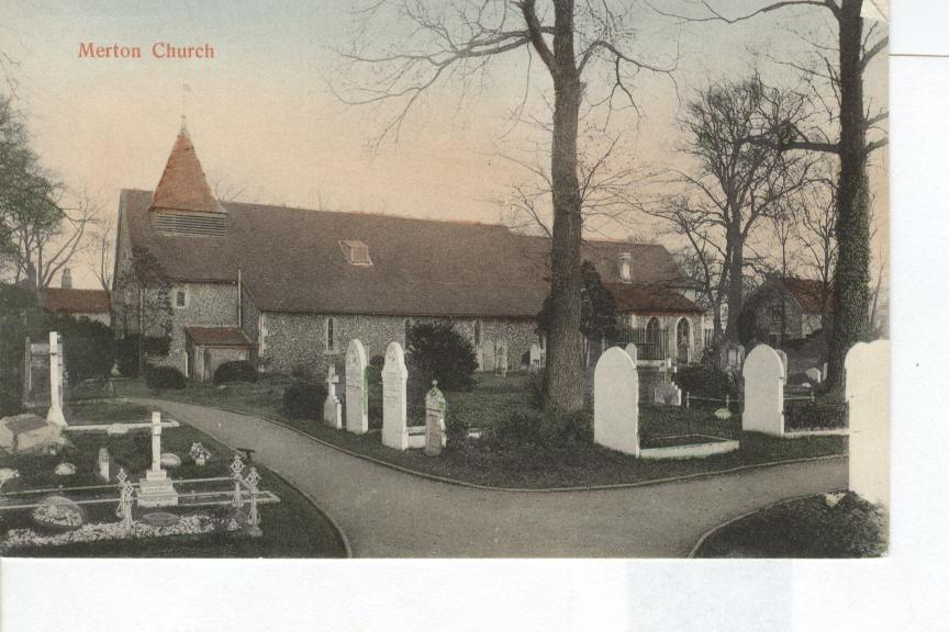 Merton Church England Postcard