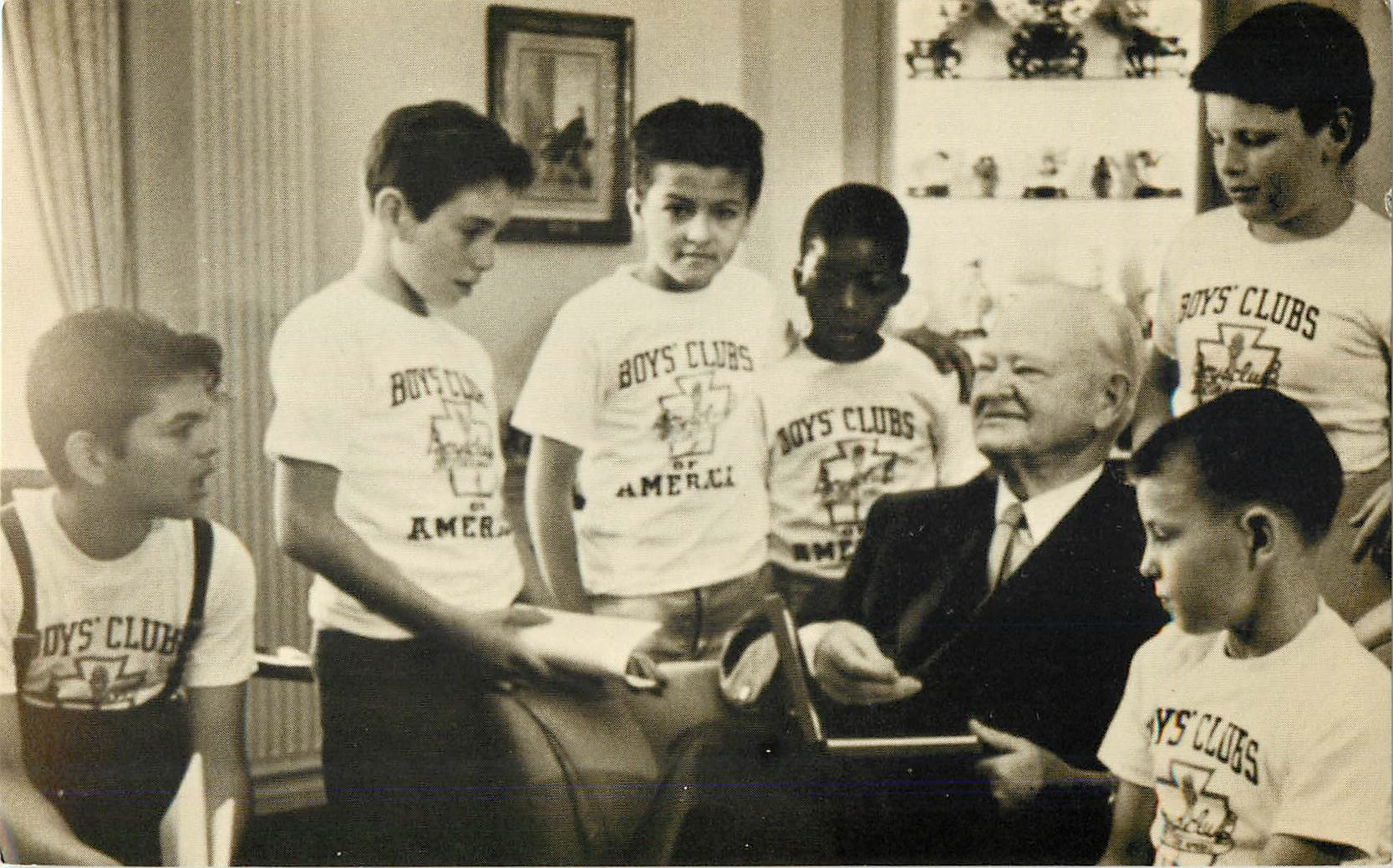 """Herbert Hoover and the Boys' Clubs"""
