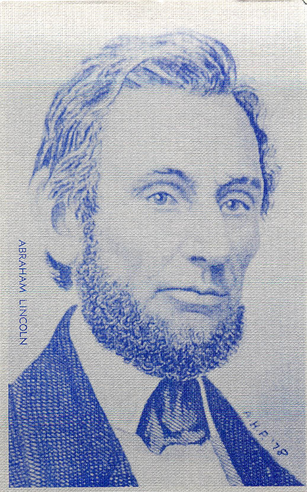 """Abraham Lincoln American Historical Prints"""