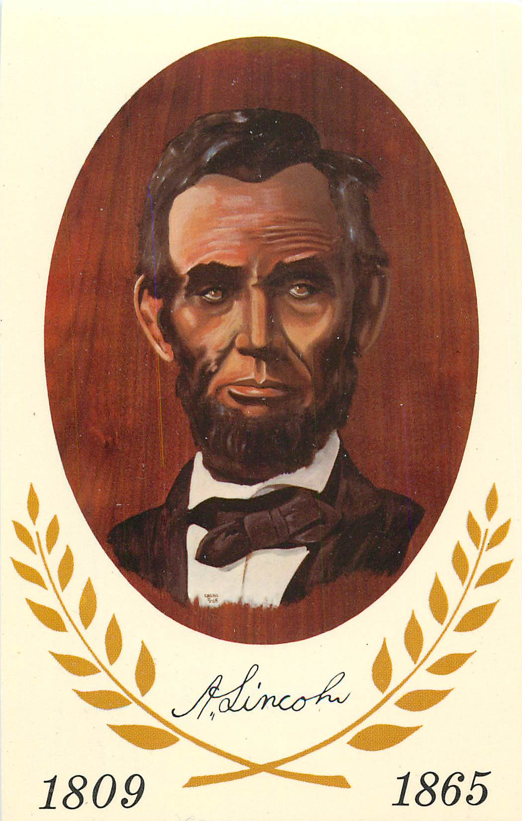 """President Abraham Lincoln"" - Click Image to Close"