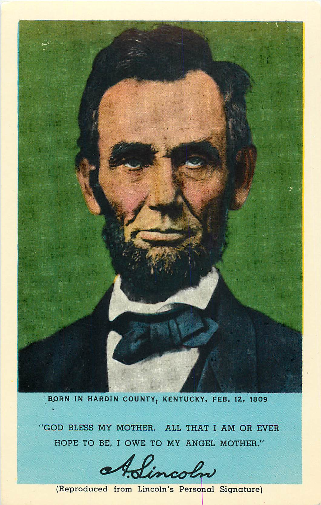 """Abraham Lincoln, 16th President"""