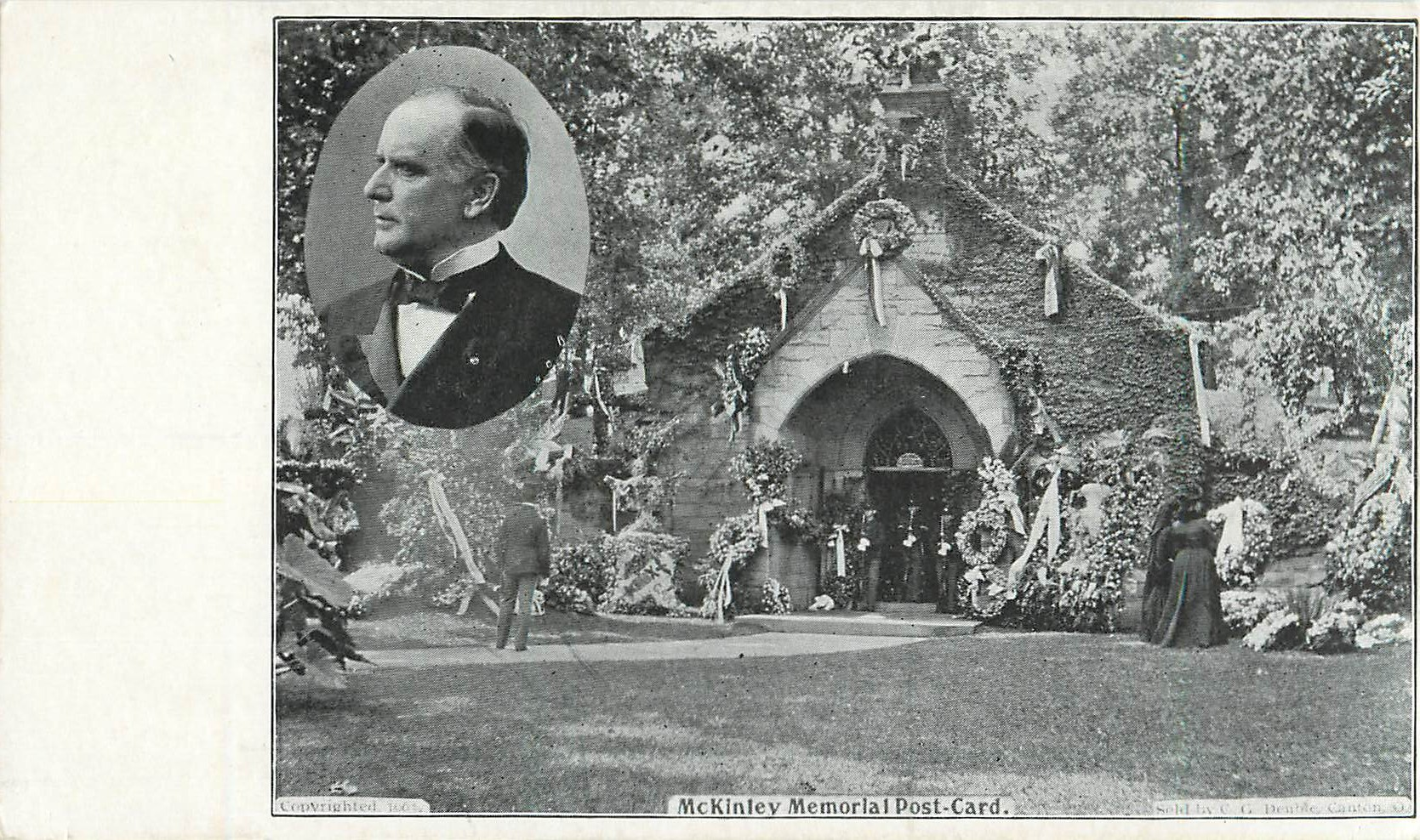McKinley Memorial Post-card.
