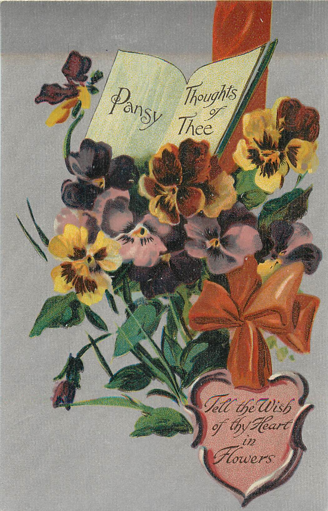 Pansy Thoughts of Thee