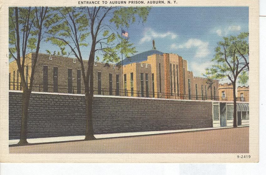 Entrance to Auburn Prison Auburn New York