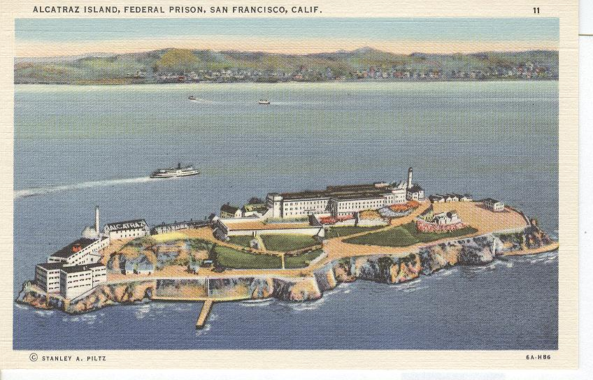 Alcattraz Island Federal Prison San Francisco California
