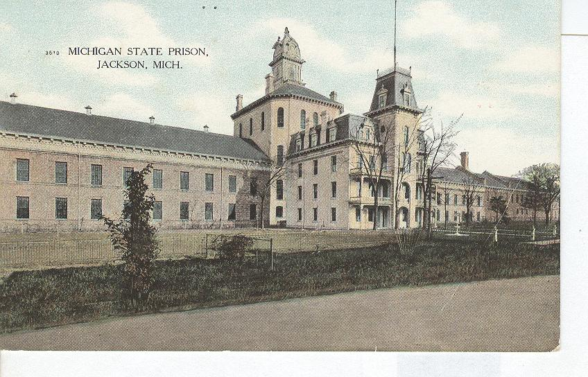 No.3510 Michigan State Prison Jackson Mich.