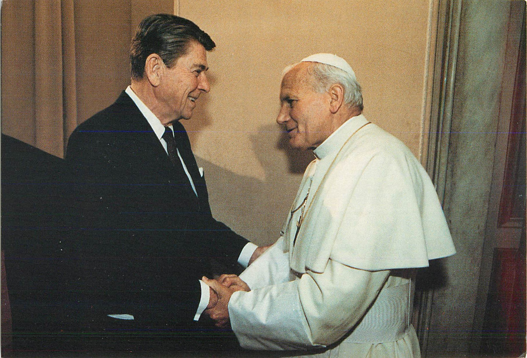 """Meeting Pope John Paul II, Vatican City"""