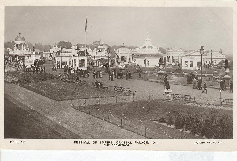Festival of Empire, Crystal Palace, 1911-The Promenade