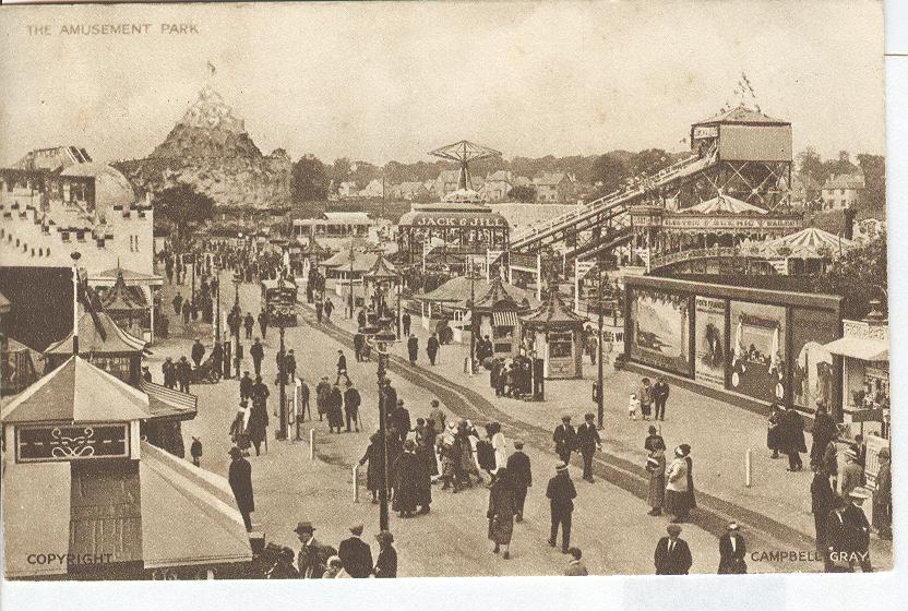 The Amusment Park British Empire Exhibition 1924