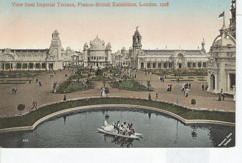 View from Imperial Terrace, Franco-British Exhibition London1908